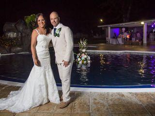 El matrimonio de Liliana y Óscar