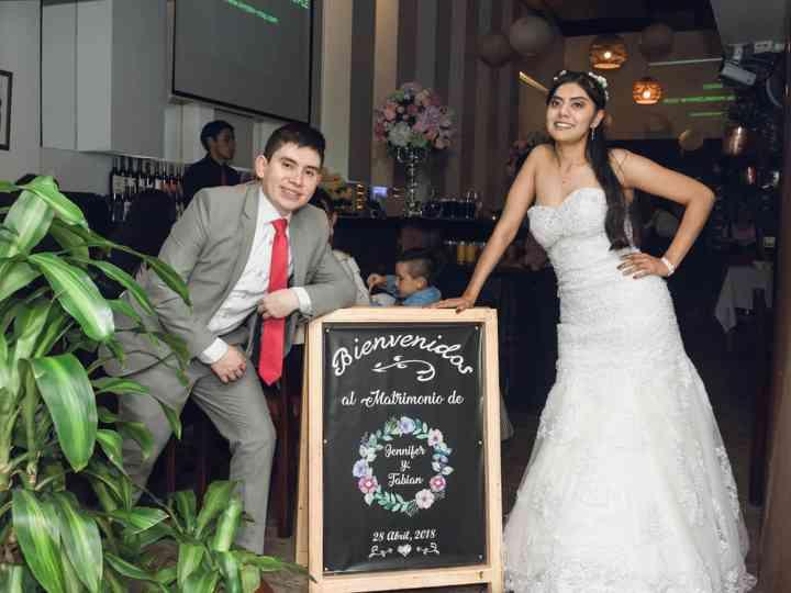 El matrimonio de Jennifer  y Fabián