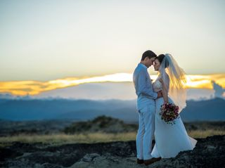El matrimonio de Johana y Iván