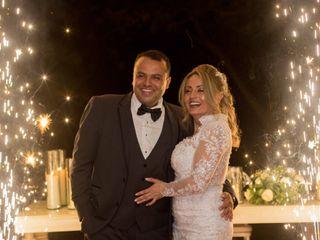 El matrimonio de Bibiana y Abel
