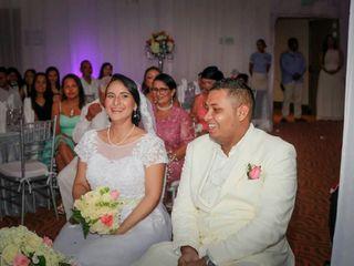 El matrimonio de Alba y Andrés Felipe 1