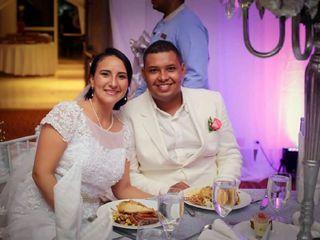 El matrimonio de Alba y Andrés Felipe