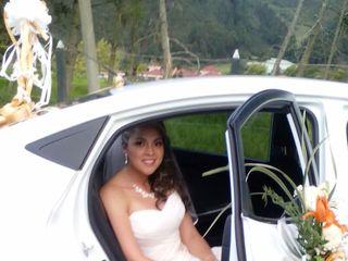 El matrimonio de Nathalie   y Andrés 1