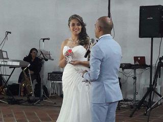 El matrimonio de Nathalie   y Andrés 2