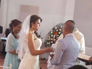 El matrimonio de Nathalie   y Andrés 3