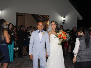 El matrimonio de Nathalie   y Andrés