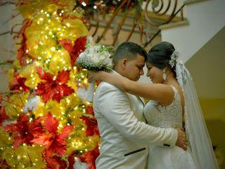 El matrimonio de Jennifer y Leonardo