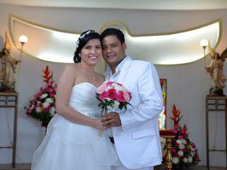 El matrimonio de María  y Oscar
