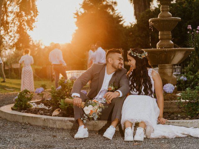 El matrimonio de Daniela y Mateo