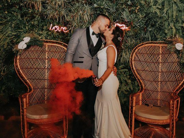 El matrimonio de Katherine y Fernando