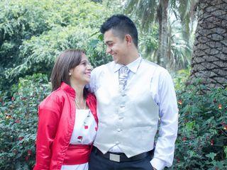 El matrimonio de Johanna y Diego 1