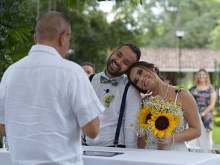El matrimonio de Camila y Leonardo