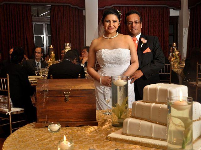 El matrimonio de Nancy y Alejandro