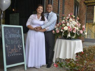 El matrimonio de Daniela y Daniel