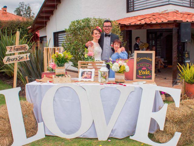 El matrimonio de Cristian   y Ximena   en Chía, Cundinamarca 6
