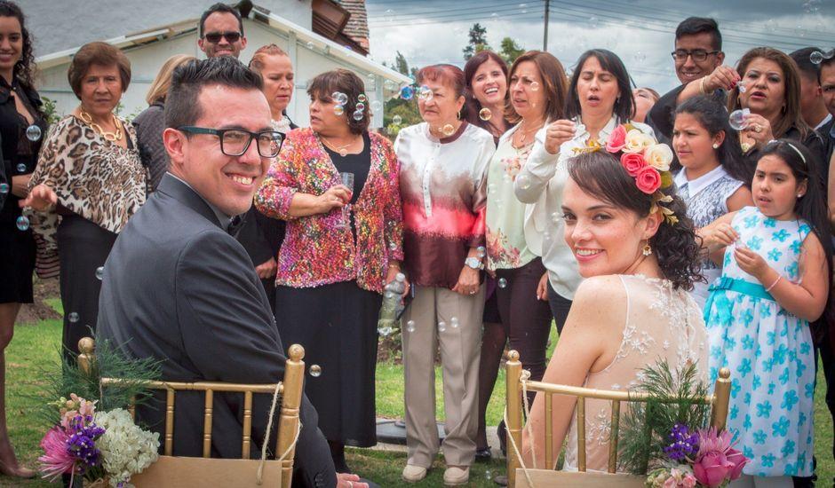 El matrimonio de Cristian   y Ximena   en Chía, Cundinamarca