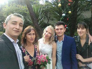 El matrimonio de Eli y Yefer