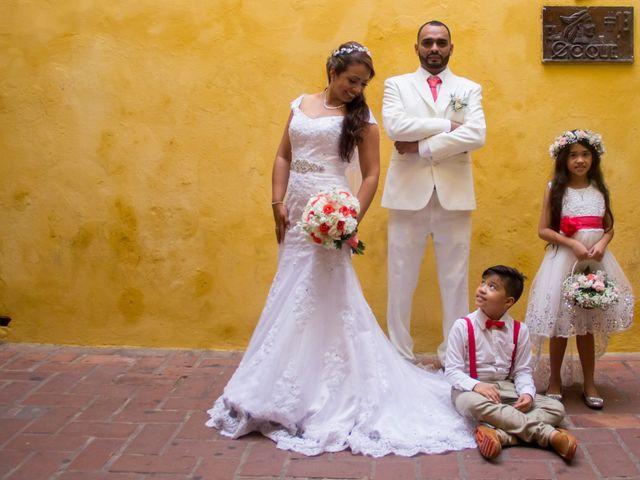 El matrimonio de Jorge y Jalime en Cartagena, Bolívar 12