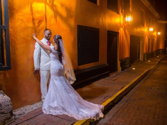 El matrimonio de Jorge y Jalime en Cartagena, Bolívar 14