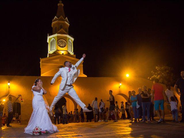 El matrimonio de Jorge y Jalime en Cartagena, Bolívar 16