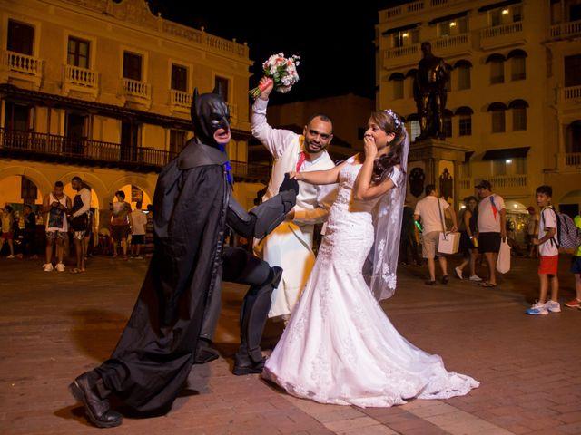 El matrimonio de Jorge y Jalime en Cartagena, Bolívar 17