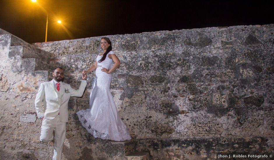El matrimonio de Jorge y Jalime en Cartagena, Bolívar