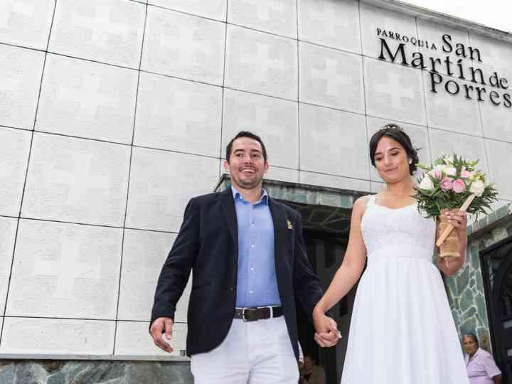El matrimonio de Lucía y Carlos
