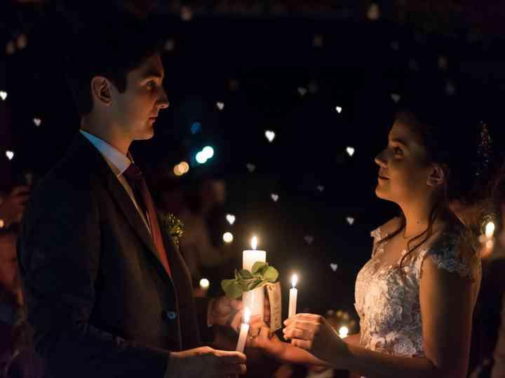 El matrimonio de Johana y Carlos