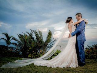 El matrimonio de Maria Alejandra y Pedro