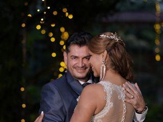 El matrimonio de María Fernanda  y José