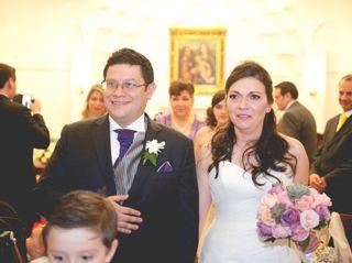 El matrimonio de Mariela y Javier