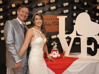 El matrimonio de Claudia  y Oscar