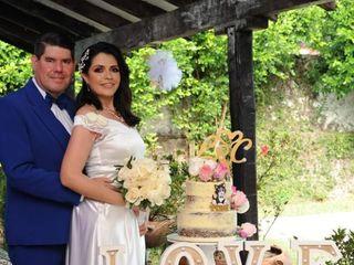 El matrimonio de Lena  y Carlos  1