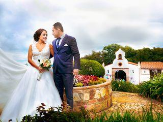 El matrimonio de Edna y Andrés