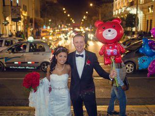El matrimonio de Anyelina y Keith