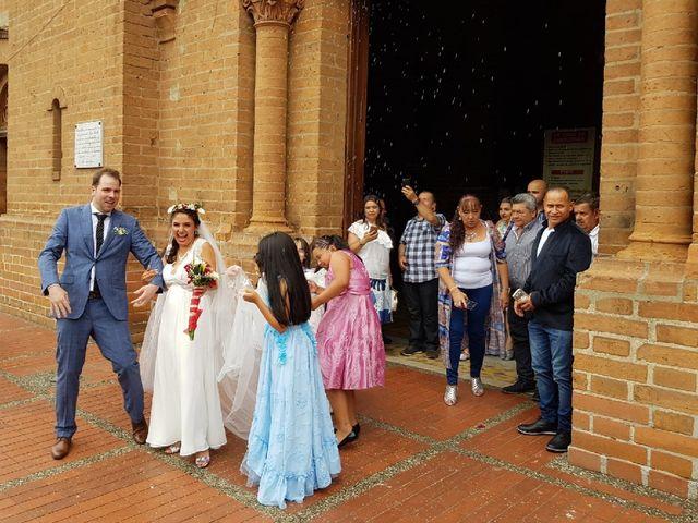 El matrimonio de Evelyn y Andy