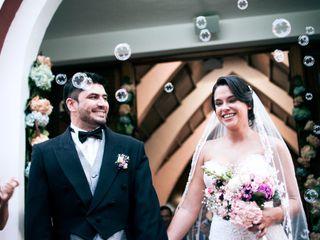 El matrimonio de Luna y Felipe
