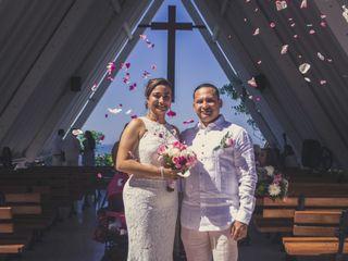 El matrimonio de Rosana y Juan Alonso