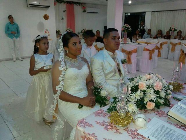 El matrimonio de Yocelin y Óscar