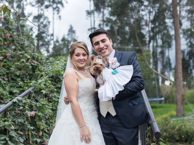 El matrimonio de Cristian y Karen en El Rosal, Cundinamarca 1