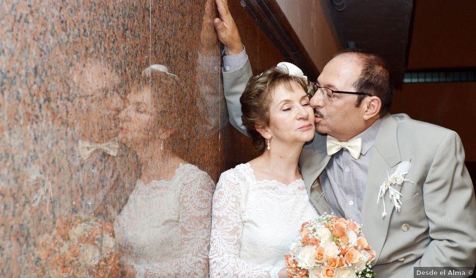 El matrimonio de Jaime y Amparo en Medellín, Antioquia
