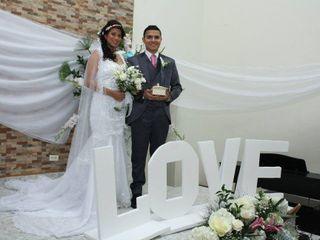 El matrimonio de  Liceth y Nicolás
