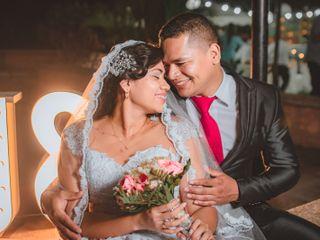 El matrimonio de Milaudy y Juio