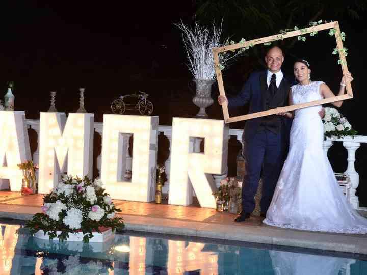 El matrimonio de Astrid y Diego