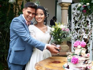 El matrimonio de Nicole  y Fausto
