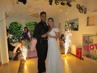 El matrimonio de Jenny y Pipe