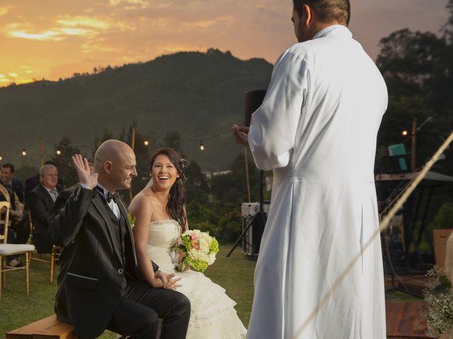 El matrimonio de Victor y Carolina en Rionegro, Antioquia 13