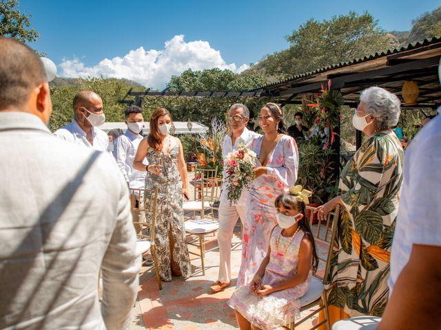 El matrimonio de Samir y María Teresa en Santa Marta, Magdalena 9