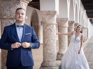 El matrimonio de Karen y Juan