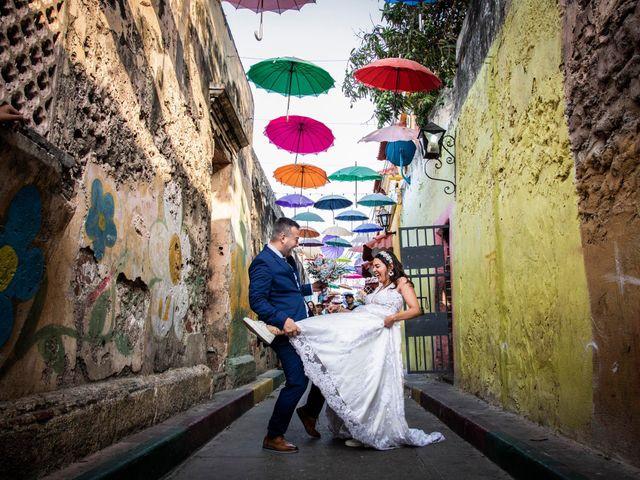 El matrimonio de Juan y Karen en Cartagena, Bolívar 12